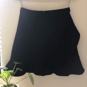 Lovers & Friends Wrap Ruffle Skirt